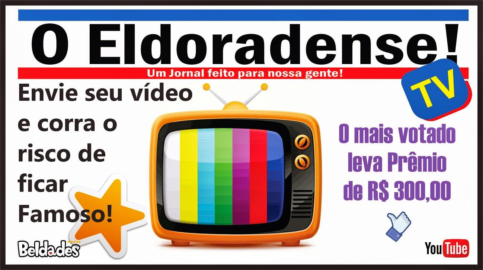 Grave e envie seu vídeo, fique famoso e corra o risco de ganhar R$ 300,00 ( Trezentos Reais )
