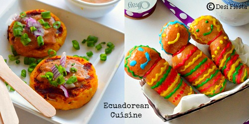 Ecuadoran Potato Cakes With Peanut Sauce Recipes — Dishmaps