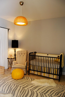 Nursery Wallpaper on Grey   Yellow Modern Nursery   Wallpaper Face Painting Ideas