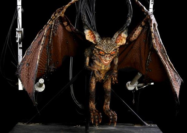Gremlins 2 Mechanical Bat Gremlin puppet