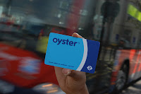 Oyster card, diary of a stand-up comedian