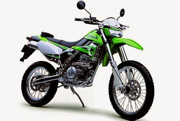 Modifikasi Trail Kawasaki Ninja 150 Warna Hijau Keren