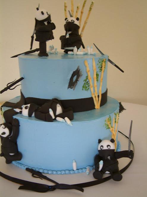 Ninja Baby Cake