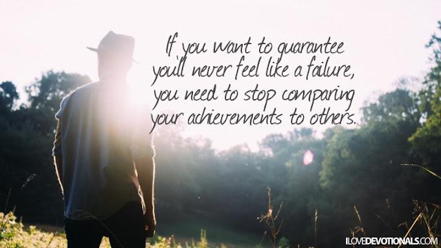 guarantee you'll never feel like a failure quote