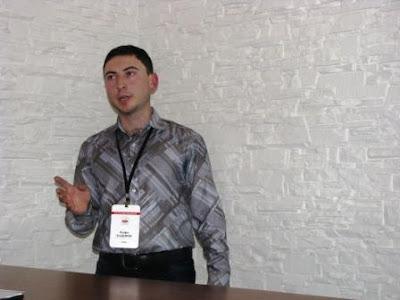Кадыров Русфет на First Social Medi Camp Donetsk