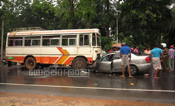 2 Women killed in Anuradhapura car-bus accident