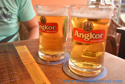 Angkor Draft Beer