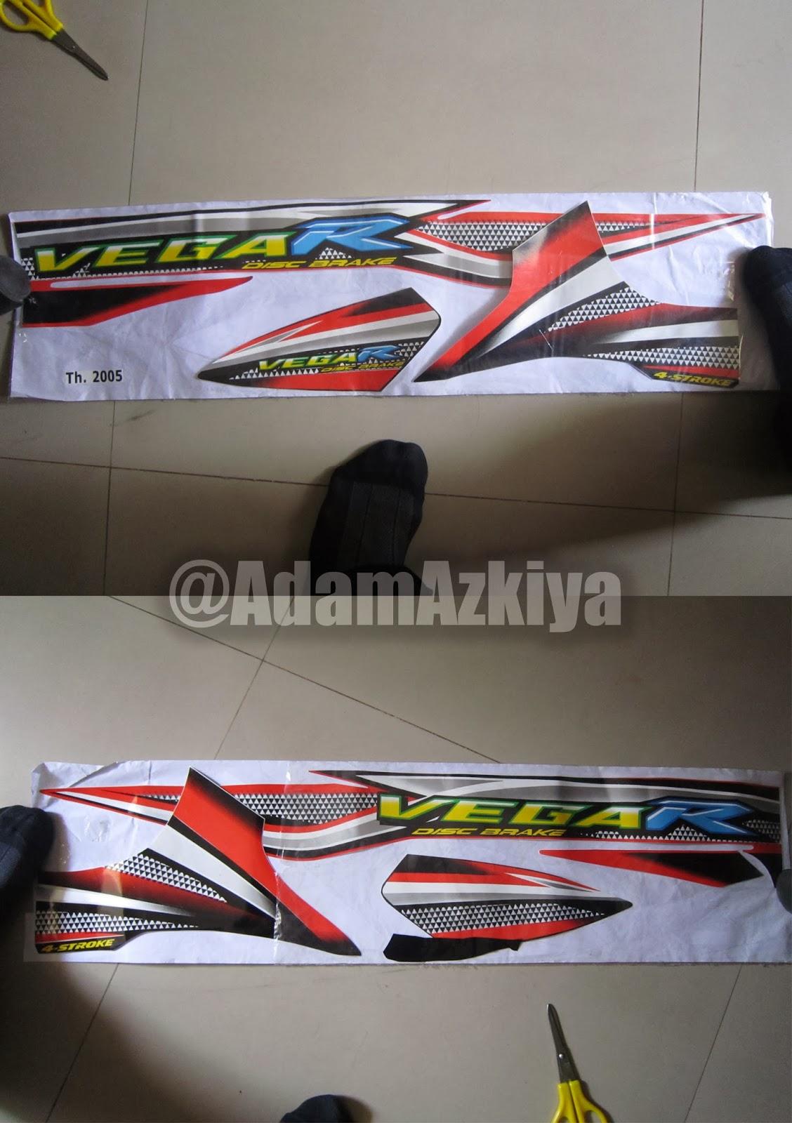 Desain Stripping Motor Vega R Adam Azkiya