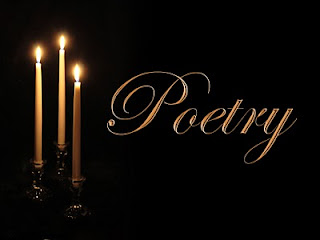poetry with candles