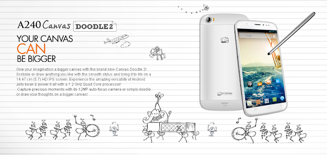 Micromax Canvas Doodle 2