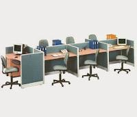 Partisi Kantor Uno Konfigurasi 7 Staff