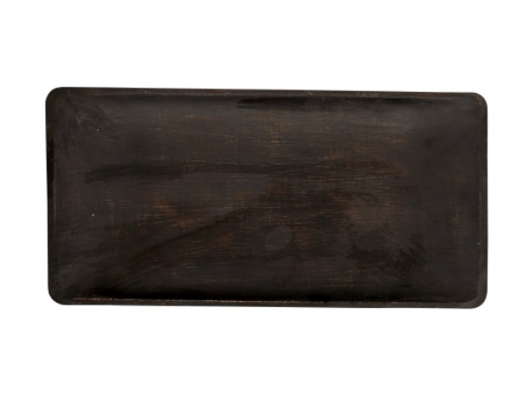 Nordic Bliss antique finish wooden tray