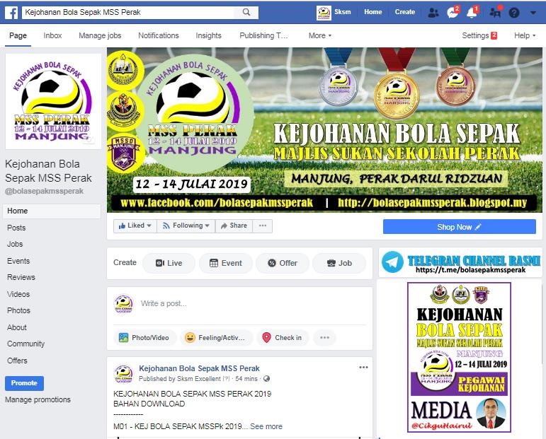 FB Page Kejohanan