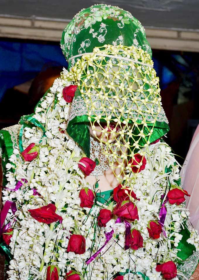 Aamir aliSanjeeda wedding