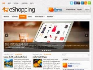 eShopping - Free Wordpress Theme