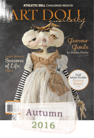 Art Doll Quarterly Cover 2016