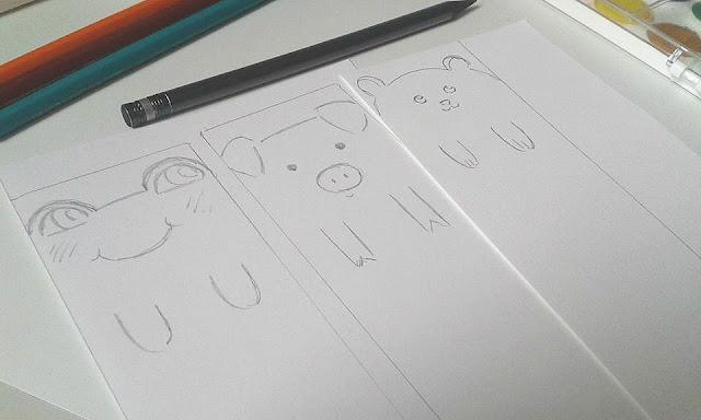 DIY: Marcadores de Texto Bichinhos, como fazer, passo a passo