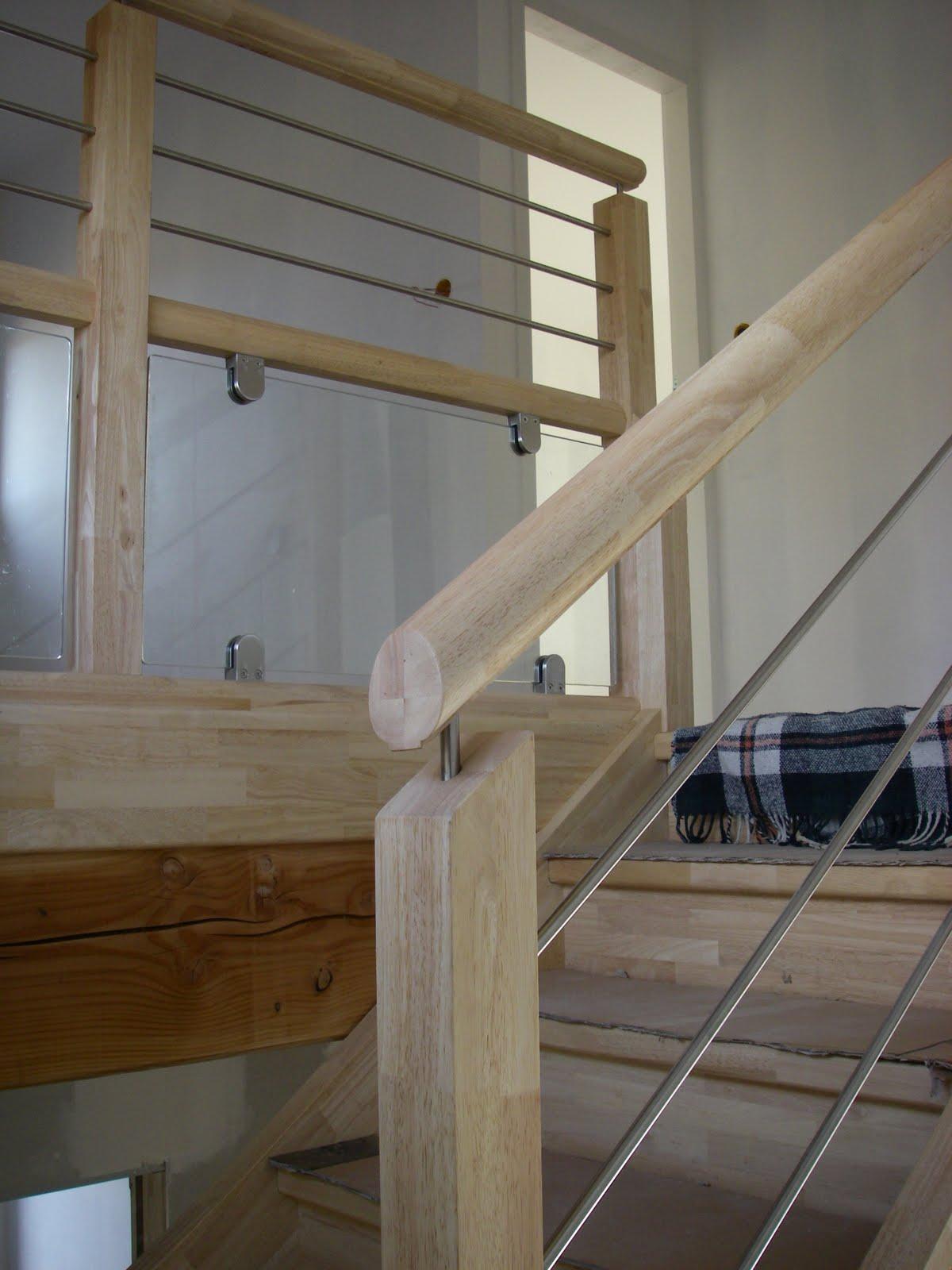 Notre maison ossature bois labelis e bbc dans les pyr n es atlantiques 64 - Escalier fait maison ...