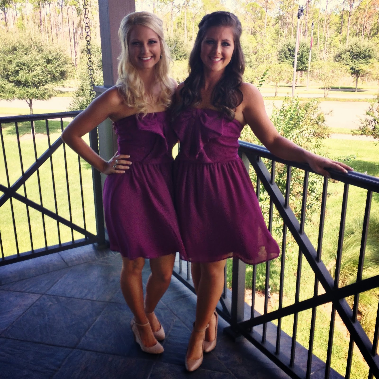 Raspberry Bridesmaid Dresses