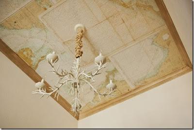 detalle lampara techo