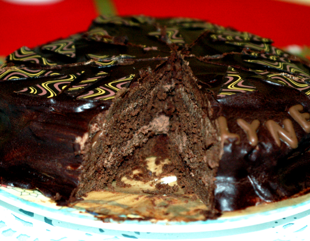 layer cake recipes dishmaps cinnamon caramel ganache layer cake ...