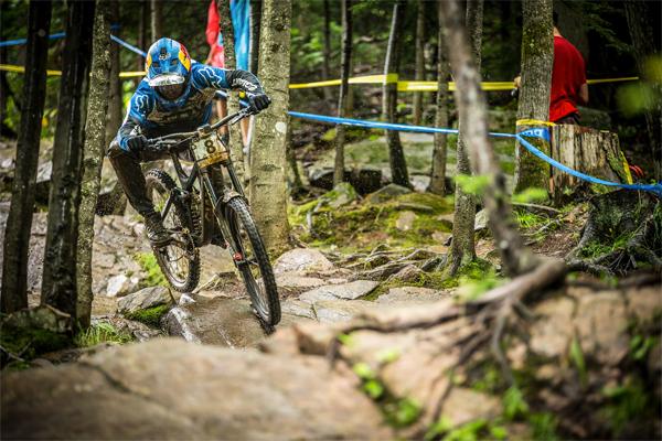 2015 Mont Sainte Anne UCI World Cup Downhill: Qualifying Marcelo Gutierrez