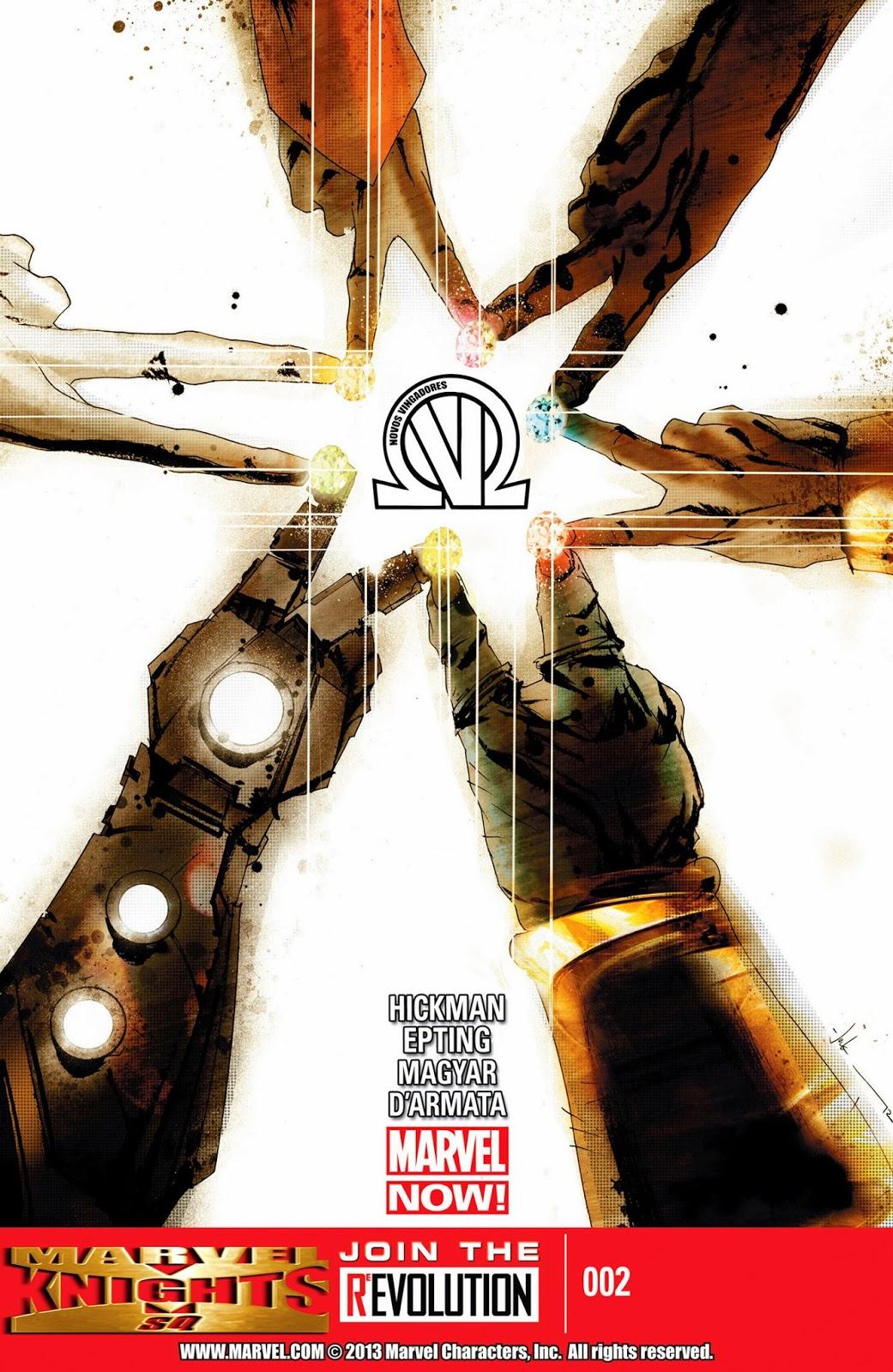 Nova Marvel! Os Novos Vingadores #2