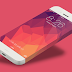 FLAT IPHONE PSD MOCKUP