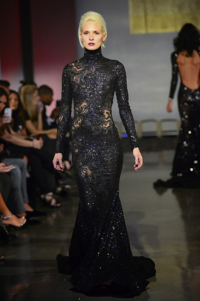 Designer Michael Costello's Pinnacle Collection was unveiled in Miami