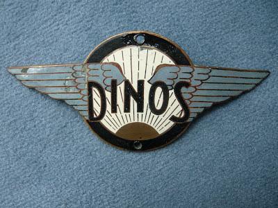 DINOS radiator badge emblem