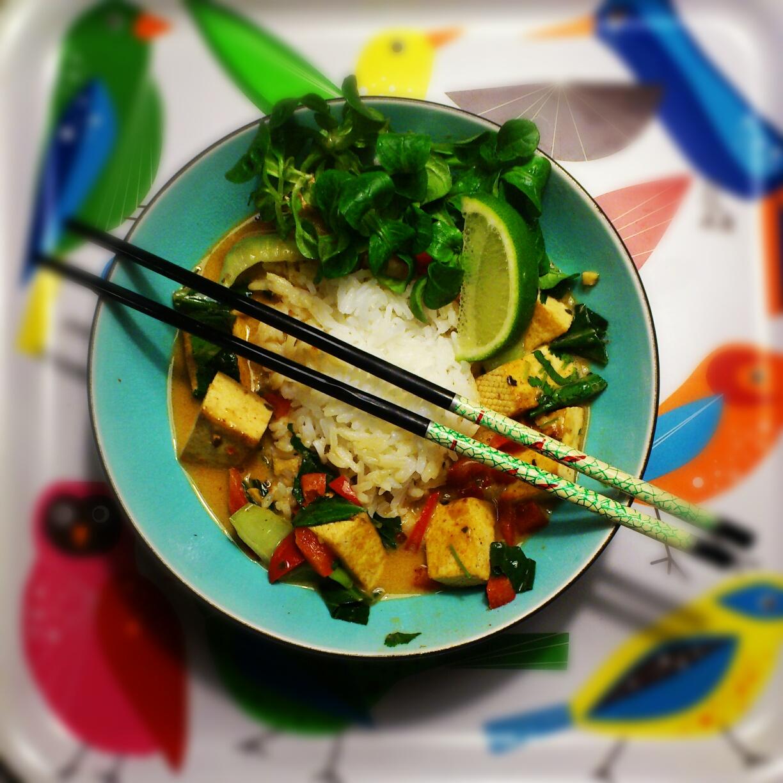 tofu wok kokosmjölk