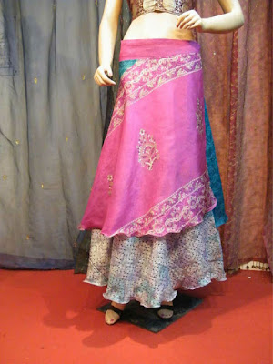 Model Rok Sari India Jodha Akbar