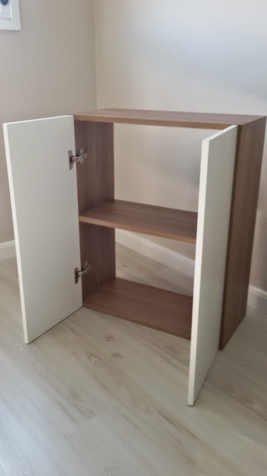 Casei, quero casa Faça você mesmo  Armário em MDF -> Como Fazer Um Armario De Banheiro De Mdf