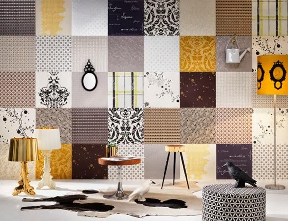 Case di lusso pareti con la carta for Carta di pareti