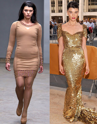 Plus-Sized Model Crystal Renn Controversy