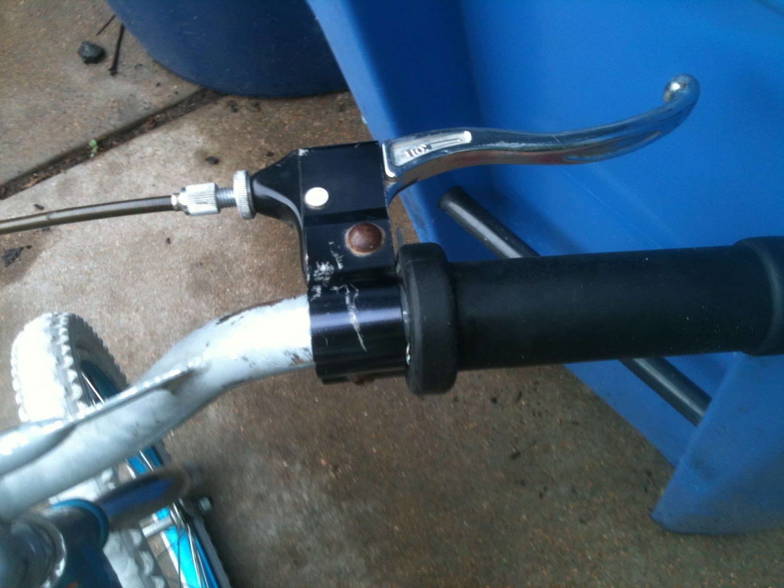 I mounted a 25 cc weed eater motor using a piece of angle iron and a piece of carpet metal. The motor is rigidly mounted to bike frame with no turn buckles ...