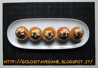 aglio, Antipasti, capperi, copertura cupcake, crema di tofu, cupcake, farina, latte di soia, lievitati, lievito, ricette vegan, senape, tofu, zucca,