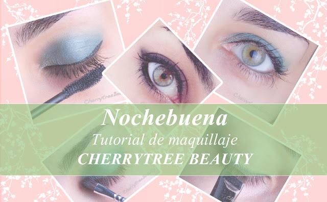 Maquillaje con Cherrytree Beauty: Propuestas para Nochebuena.
