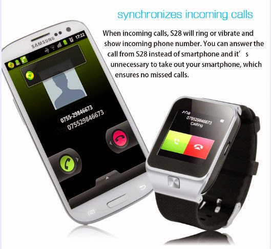 ZGPAX S28 Smart Watch Phone