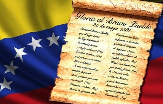Tus Efemérides: 25 de Mayo Día del Himno Nacional de Venezuela