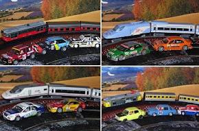 Historia de los trenes y automoviles del siglo XX