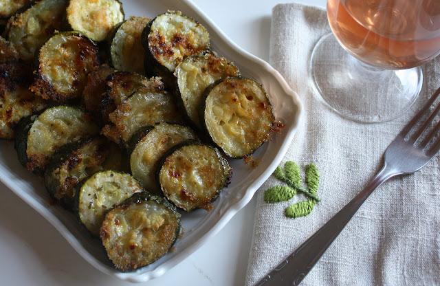 The Doctor's Kitchen: Zucchini Parmesan Crisps