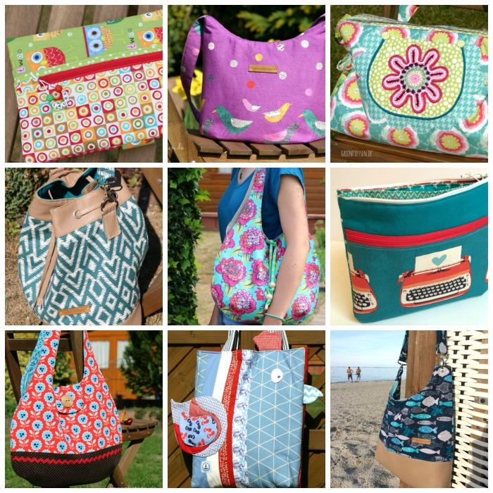 Jahresrückblick - meine Taschen 2015