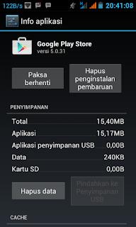 Info Aplikasi Google Playstore