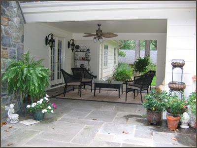 Glamour begins at home a spot for a siesta - Como decorar un patio ...