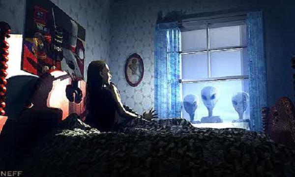 Επισκέπτες Κρεβατοκάμαρα! Παραφυσικά Φαινόμενα  σε συνδυασμό με εξωγήινους! ιστορία