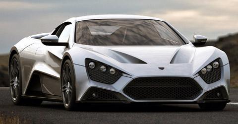 Carros mais caros do mundo em 2013 Zenvo ST1