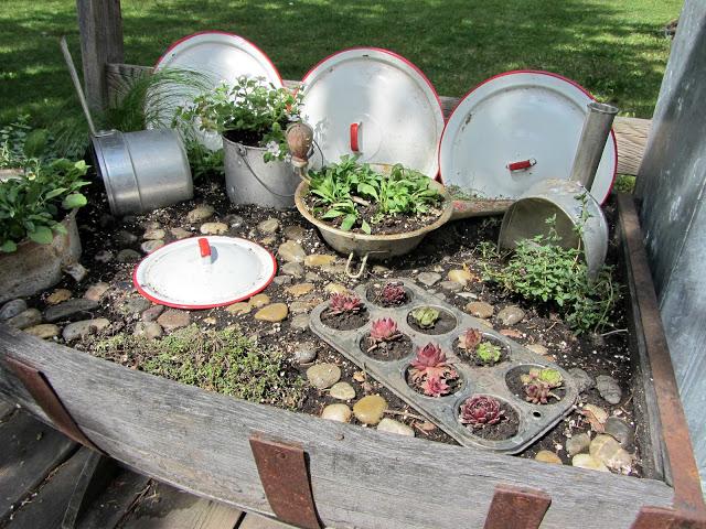 Organized Clutter Junk Gardening