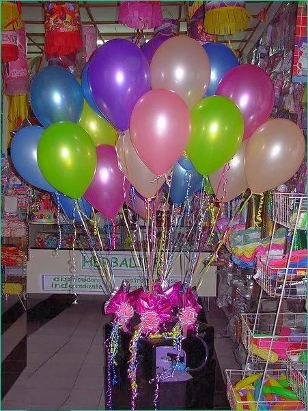 Envio de flores mexico tanques de helio inflados y - Como conseguir globos de helio ...
