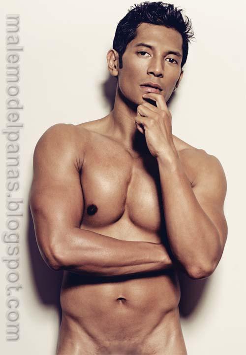 Indonesian male model